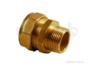 Kuterlite 7001700 Compression Fittings -  Kut K1711 Male Coupling 1/2x1/2 68049