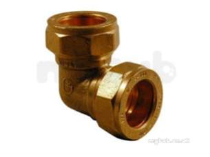 Kuterlite 7001700 Compression Fittings -  Pegler Yorkshire Kut K1715 90d Elbow 1/2