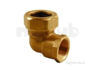 Kuterlite 7001700 Compression Fittings -  Kut K1717 90d Female Elbow 1/2x1/2