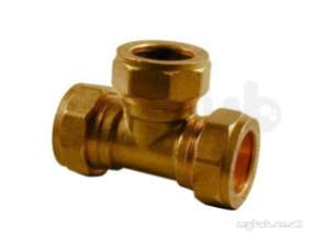 Kuterlite 7001700 Compression Fittings -  Pegler Yorkshire Kut K1718 Equal Tee 3/8