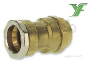 Isiflo Fittings For Mdpe 20mm 63mm -  R100im 25x3/8 Strt Coupling Im 17255