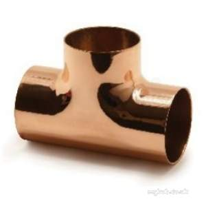 Yorkshire Degreased Endbraze Fittings -  Endbraze Degreased N24 Equal Tee 76mm