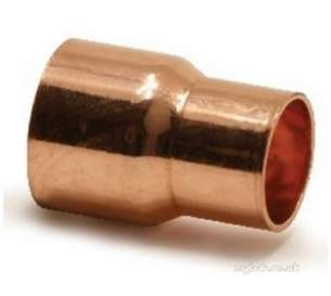 Yorkshire Degreased Endex 6mm 28mm Fittings -  Pegler Yorkshire N1r 8x6 Red Coupling