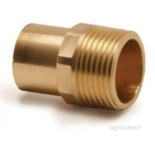Yorkshire Endex End Feed Fittings -  Endex N8 28mm X 1 Inch Male Adaptor