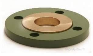 Yorkshire Degreased Endbraze Fittings -  Pegler Yorkshire N1fm/gi 159mm Bi Metal Flange