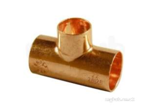 Yorkshire Degreased Endex 35mm plus Fittings -  Endex Degreased N25 Red Tee 54x54x35mm