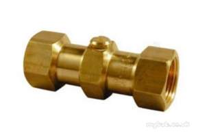 Yorkshire Lever Check and Appliance Valves -  Kut K4426 Double Check Valve 1.1/2