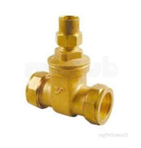 Yorkshire Kuterlite 600 Range -  Kut K416ls Brass L.shield Gate Valve 15