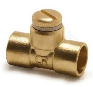 Yorkshire Degreased Endex 6mm 28mm Fittings -  Pegler Yorkshire N1 15 Air Vent Coupling