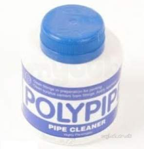 Polypipe Building Products Sundries -  Polypipe 250ml Tin Cleangin Fluid Cf250