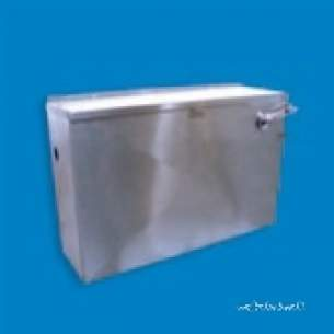 Pland Commercial Stainless Steel -  Pland 9.0l Auto Cistern Ss Cistern-a9