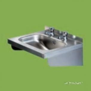 Pland Catering Sinks and Stands -  Pland Cwb1610 508x419 W/basin C/w Waste
