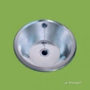 Pland Catering Sinks and Stands -  Pland Cwb0316 415 Dia Recess S/bowl