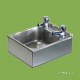 Pland Catering Sinks and Stands -  Pland Cwbhandi 267x328 W/basin C/w Waste