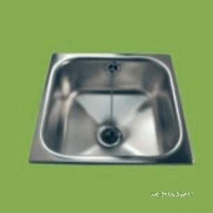 Pland Catering Sinks and Stands -  Pland Onyx Cwbihandi 279x279 Bowl S/s