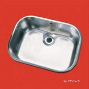 Pland Catering Sinks and Stands -  533x381x200 Lab Inset Self Rimming Bowl