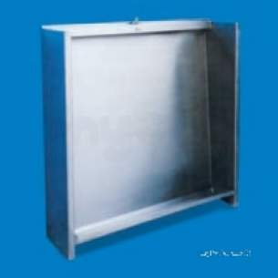 Pland Commercial Stainless Steel -  Pland 1800mm Floor Recessed Slab Urinal