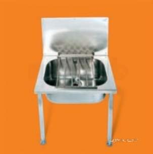 Pland Catering Sinks and Stands -  Pland Sb0038st Bucket Sink