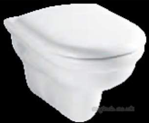 Eastbrook Sanitary Ware -  10.2007 Pluto Wall Hung Wc Pan White