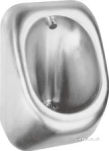 Sissons Stainless Steel Products -  G20494n Guardian Pod Urinal Rear Ent Ss