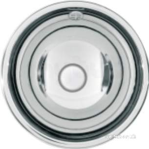 Sissons Stainless Steel Products -  Inset Washbasin 339mm High Polish Finish