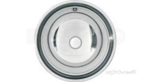 Sissons Stainless Steel Products -  Inset Washbasin 388mm High Polish Finish