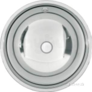 Sissons Stainless Steel Products -  F0332 456mm High Inset W/hand Basin Ss