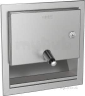 Sissons Stainless Steel Products -  Sissons Rodan Recessed Soap Dispenser