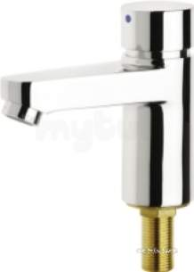 Franke Sissons Commercial Brassware and Showers -  Pillar Tap For Connecting To Cold Water Aqua 203