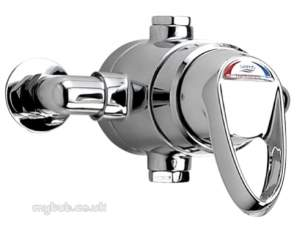 Gummers Commercial Showers -  Sirrus St1503ecp-t3 D/lvr Exp Shower Valve Cp