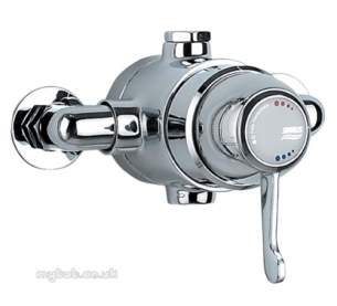 Gummers Commercial Showers -  Sirrus 1503ecp-lv Exp Lever Shower Valve Cp