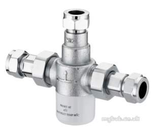 Gummers Commercial Showers -  Sirrus Mini T 15mm Thermo Mixing Valve