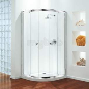 Coram Premier Shower Enclosures -  New Premier 1200 Quad Frame Plus Door Pack Sl/cl