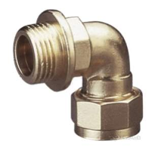 Prestex Compression Fittings -  Prestex Dr 45 22mm X 3/4 Inch Mi Bent Coupling