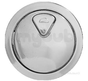 Thomas Dudley Cisterns -  Vantage Dual Flush Pushbutton Cp 73mm Dia