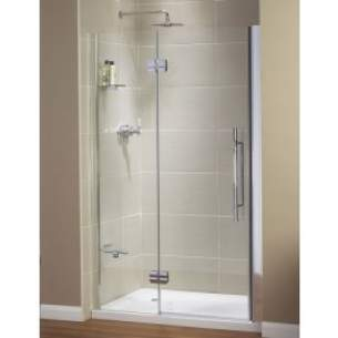 Aqualux Aquanos Aquaspace and Pura Ranges -  Aqualux Pura Pivot Door Recess 1000