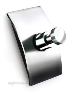 Croydex Bathroom Accessories -  Croydex Kensington Qb551743 Robe Hook