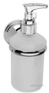 Croydex Bathroom Accessories -  Croydex Westminster Soap Dispenser Cp