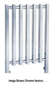 Quinn Crown Designer Towel Rails -  Quinn Crown Cube Fence 800x1000mm Qcr02c Chrome
