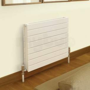 Quinn Slieve H Designer Towel Rails -  Quinn Slieve H Single Panel 578x1800mm Qhp1108 White