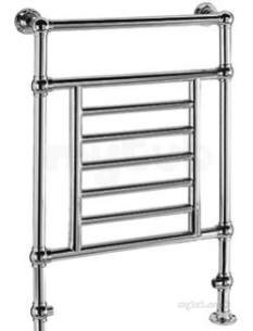 Quinn Verona Designer Towel Rails -  Quinn Verona Wall Mounted 1120x675mm Qcl202c Chrome