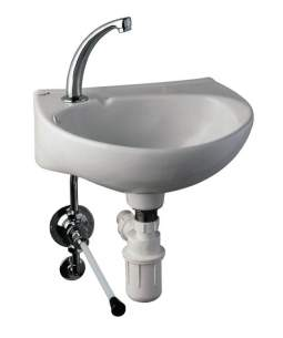 Rada And Meynell Commercial Showers -  Rada 122.64 Tf750 Knee Operated Timed Flow Control
