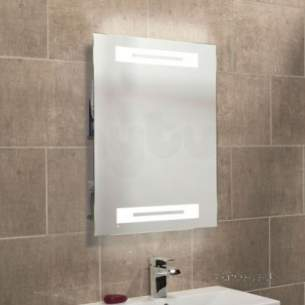 Roper Rhodes Accessories -  Radiance Backlit Mirror With Shelves