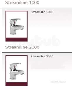 Heatrae Water Heaters -  Streamline 2000 Monobloc Lvr Mixer And Waste Replaced