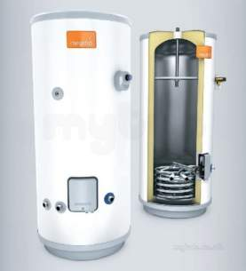 Heatrae Megaflo Eco Unvented Cylinders -  Megaflo Eco 125i Unvented Indirect Cyl