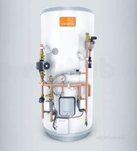 Heatrae Megaflo Eco Unvented Cylinders -  Megaflo Eco 145sf S22 Unvented Ind S/fit