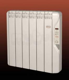 ELNUR Electrical Designer Radiators -  Elnur Rf8e 1kw Electric Radiator 24hr Digital Control White