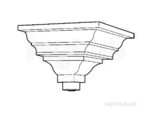 Hargreaves Sand Cast Rainwater -  Hargreaves H513 Hopper Head - Rh513