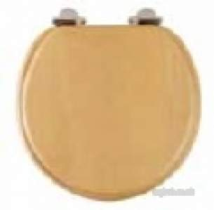 Roper Rhodes Toilet Seats -  Traditional Toilet Seat Sft Cls Beech/ch
