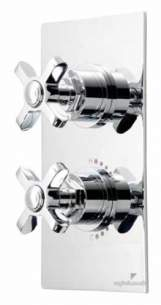 Roper Rhodes Showers -  Concealed In-line Dual Control Wessex